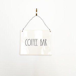 ✨ NWT Coffee Bar Sign   Rae Dunn